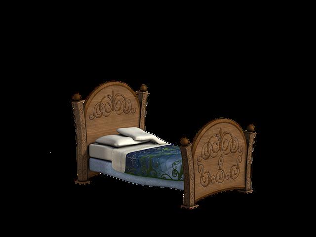 Bed, Pillow, Zudeck, Wooden Bed, Rest, Sleep