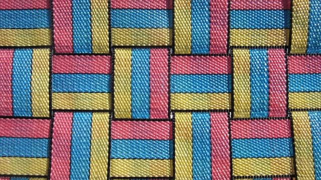 Tissue, Colorful, Stripes, Toboggan, Slide, Pattern