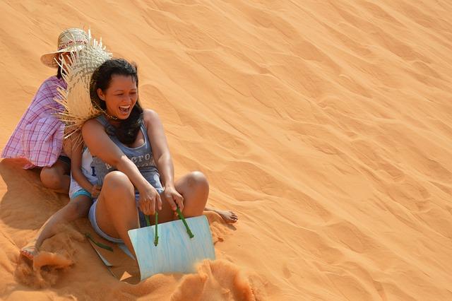 Sand, Slide, Glide, Stir Up, Dust, Slip