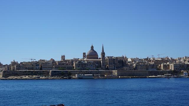 Sliema Bay, Valletta, Malta