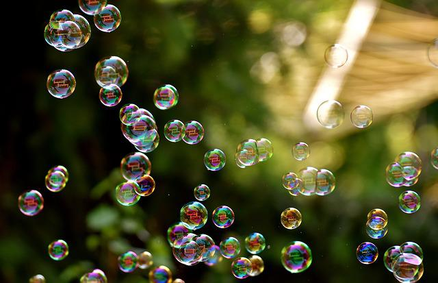 Soap Bubbles, Float, Make Soap Bubbles, Balls, Slightly