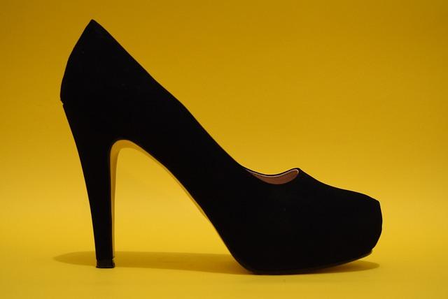 Shoes, Women, High Heels, Black, Slippers, Footwear