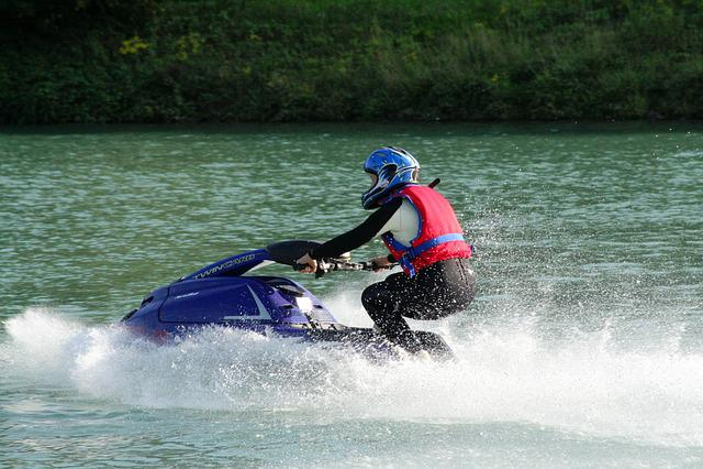 Sport, Helmet, Water, Jet Ski, Woman, Endurance, Slips