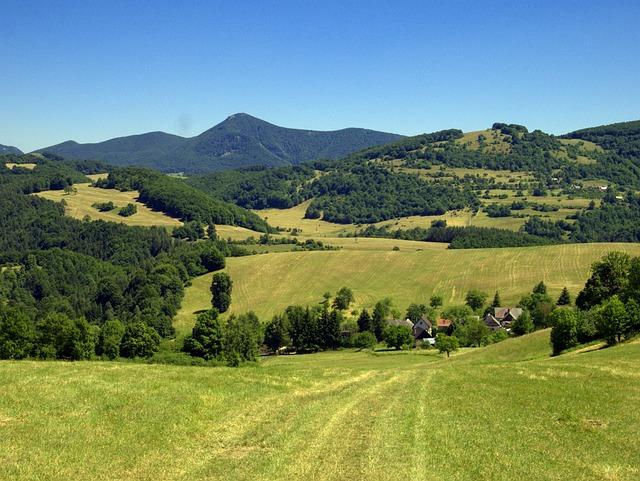 Slovakia, Straż, Mountains, Country, Nature, Meadows