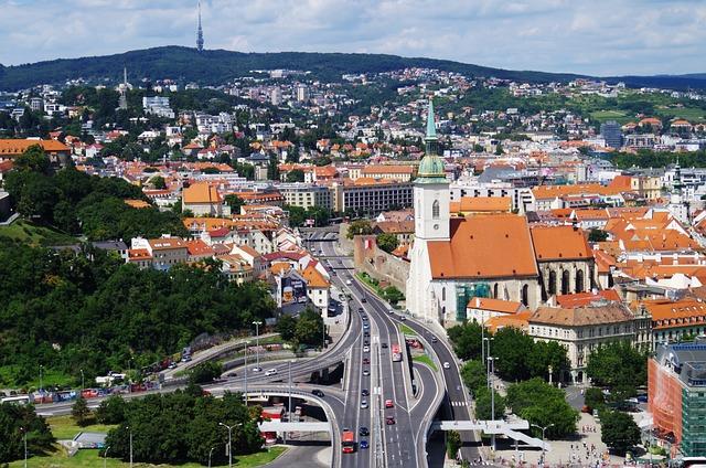 Bratislava, Slovakia, St Martin's Cathedral, Path