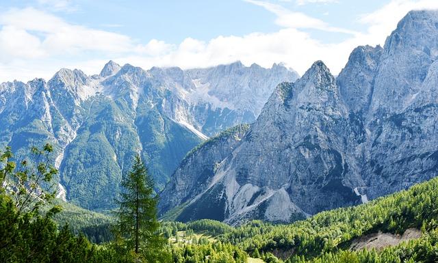Julian Alps, Mountains, Slovenia, Blue Mountains