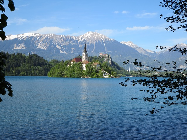 Bled, Slovenia, Lake, Island