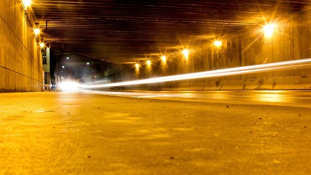 Cars, City, Lights, Long Exposure, Night, Shutter, Slow