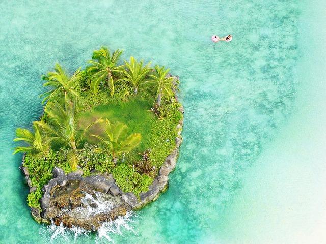 Small, Island, Honolulu, Hawaii, Sea, Beach, Blue