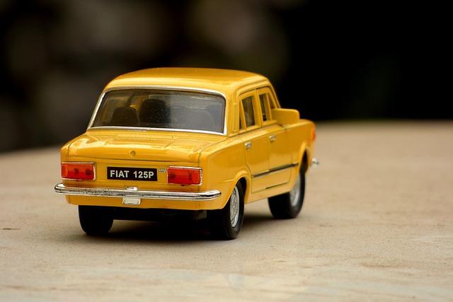 Fiat, Auto, Vehicle, Small Car, Antique Car