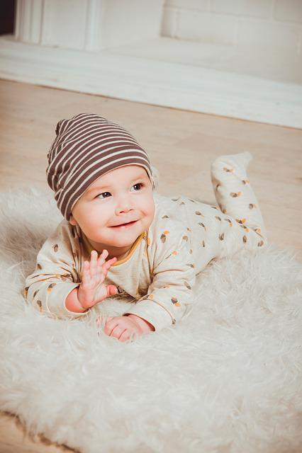 Babe, Kid, Portrait, Cheerful, Smile, Small Child