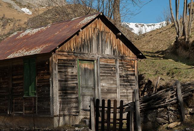 Pyrénées, Small House, Shed, Chalet