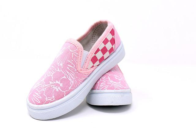 Children's Shoes, Fabric, Small, Shoe, Fabric Shoes