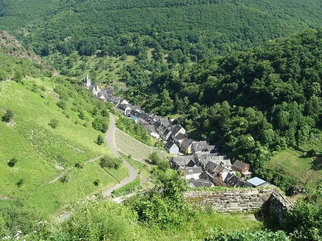 Steeg, Bacharach, Rhine Valley, Village, Town, Small