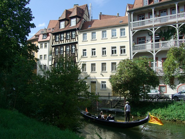 Bamberg, Gondola, Small Venice, Town On The River
