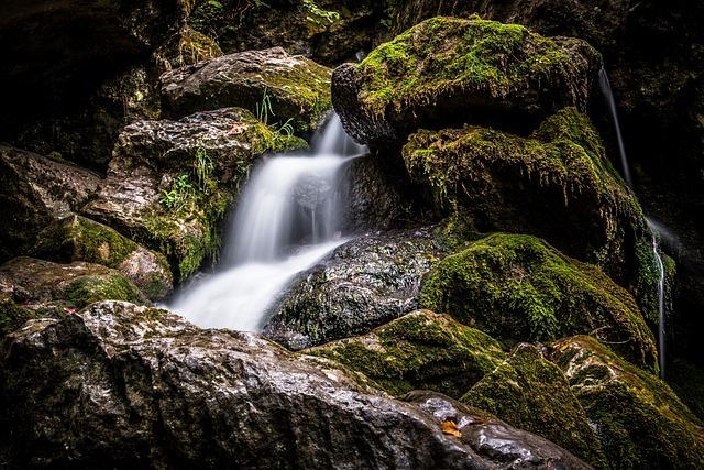 Water, Waterfall, Nature, Landscape, Small Waterfall