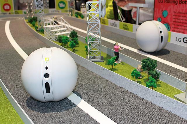 Lg, Rolling Bot, Gadget, Toy, Smart House