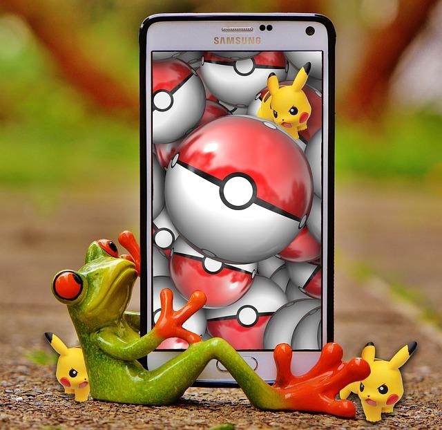 Pokemon, Pokemon Go, Play, Smartphone, Mobile Phone