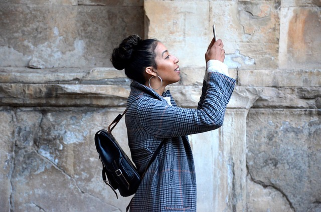 Lady, Mobile Phone, Person, Smartphone, Taking Photo