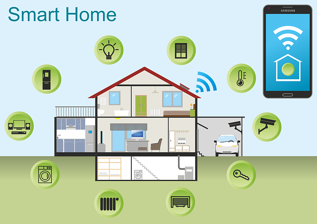Smart Home, House, Technology, Multimedia, Smartphone