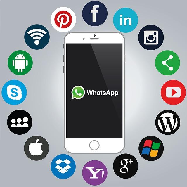 Whatsapp, Smartphone, Social Media, Icons