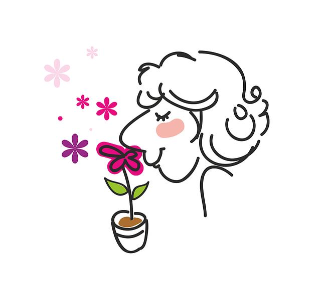 Man, Women's, Fragrant Flowers, Smell