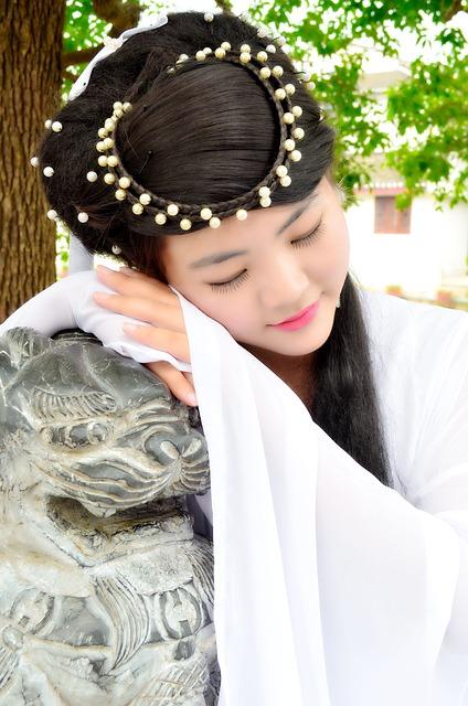Take A Nap, Smile, Ancient Costume, Artistic Photos