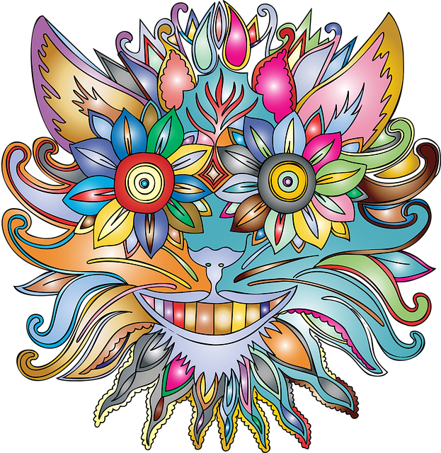 Anthropomorphic, Flower, Floral, Plant, Smile, Abstract