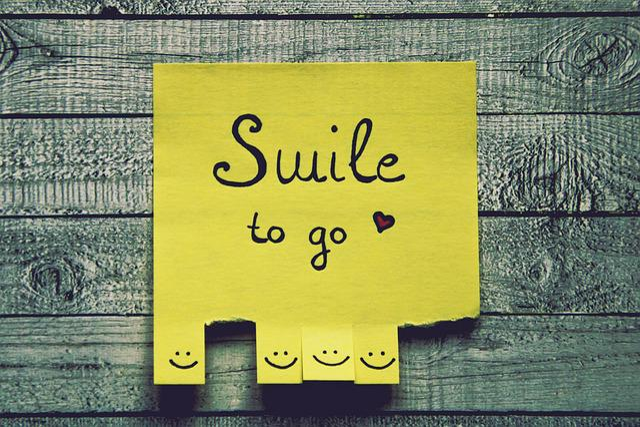 Smile, List, Tear Off, Happy, Joy, Smiles, Smiley