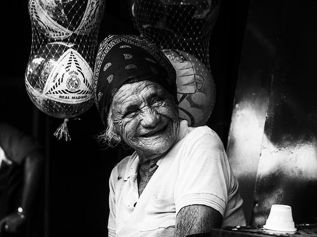 Maracaibo, Venezuela, Woman, Old, Older, Smiling