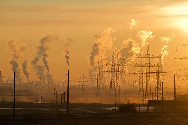 Industry, Pollution, Smog, Sunrise, Air Pollution, Air
