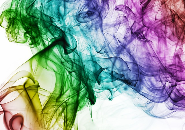 Colour, Smoke, Rainbow, Color, Design, Creative
