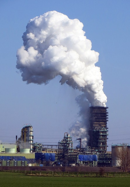 Industry, Smoke, Cooling Tower, Power Plant