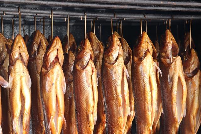Smoked Fish, Trout, Smoking, Smoked, Smoked Trout