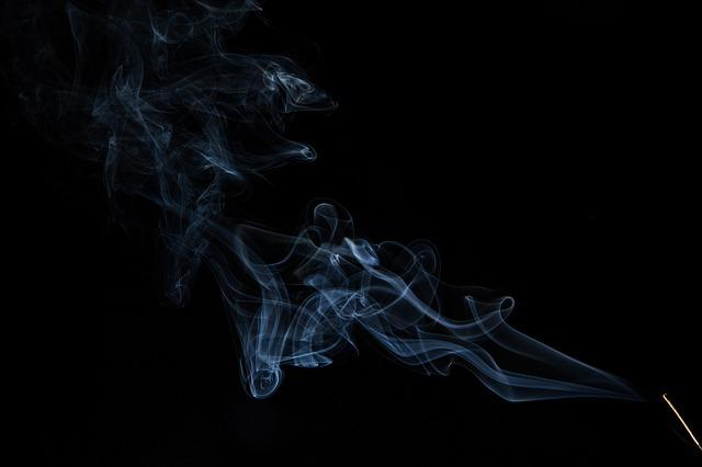 Smoke, Incense, Smell, Dark, Fumes, Smoker, Background