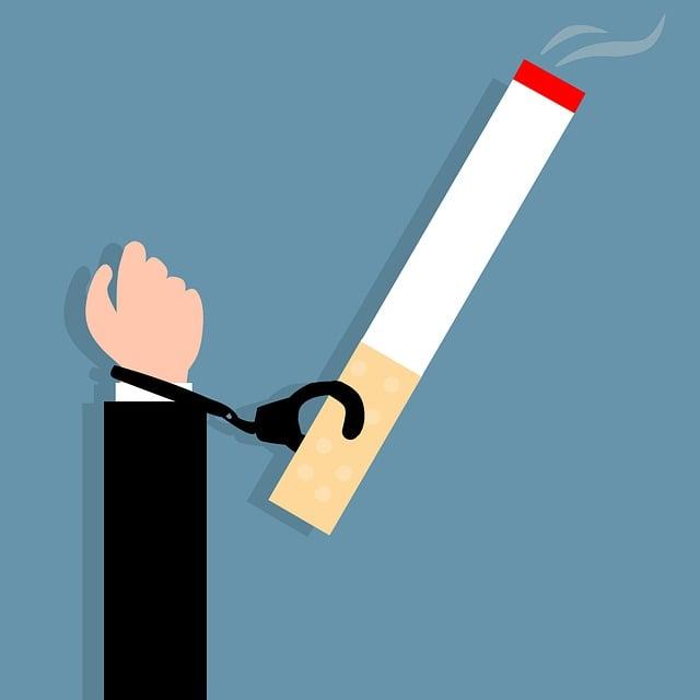 Smoking, Addiction, Cigarette, Arrest, Bad, Cancer