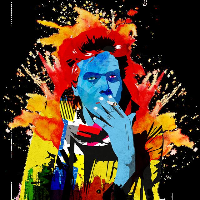 Art, Portrait, Painting, Digital Art, Colorful, Smoking