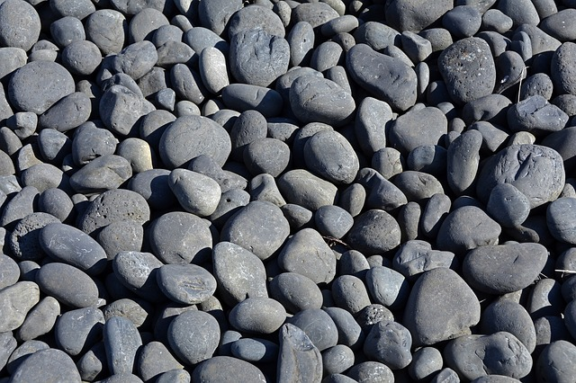 Stones, Smooth, About, Grey, Nature, Sea, Water