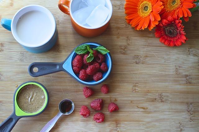 Smoothie, Raspberry, Healthy, Food, Fruit, Fresh