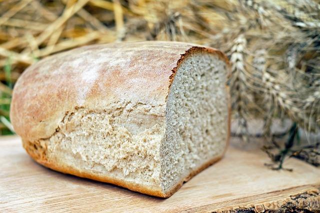 Bread, Farmer's Bread, Baked Goods, Snack, Food