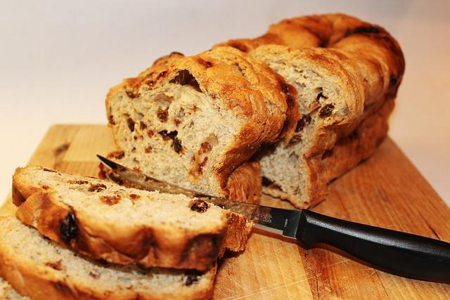 Bread, Raisin, Food, Sandwich, Sliced, Snack