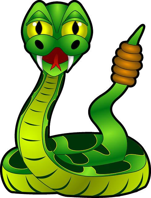 Rattlesnake, Reptile, Snake, Toxic, Animal, Dangerous