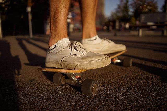 Feet, Footwear, Legs, Shoes, Skateboard, Sneakers, Vans