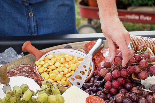 Picnic, Food, Spread, Sneek, Grape, Diet, Lifestyle
