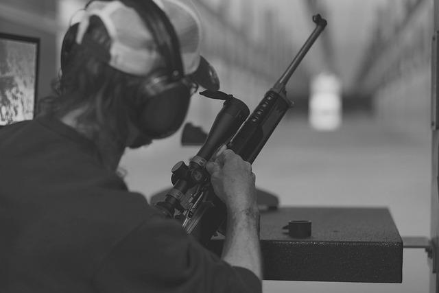 Shooting Range, Scope, Sniper, Target, Gun, Rifle