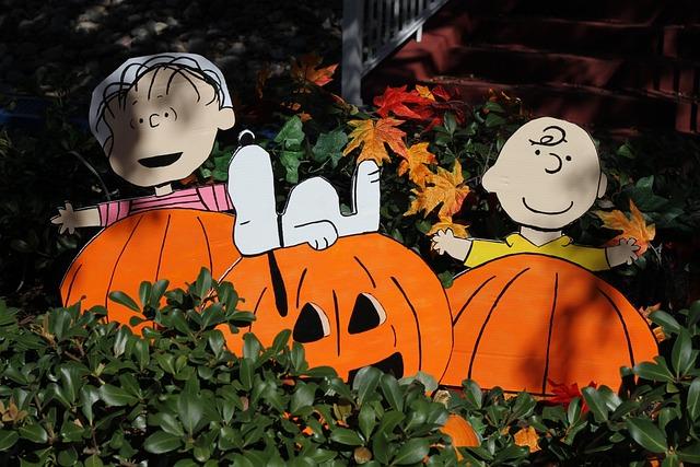 Thanksgiving, Pumpkin, Halloween, Snoopy, Charlie Brown