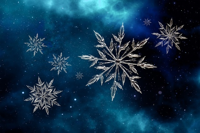 Star, Christmas, White, Snow, Advent, Decoration