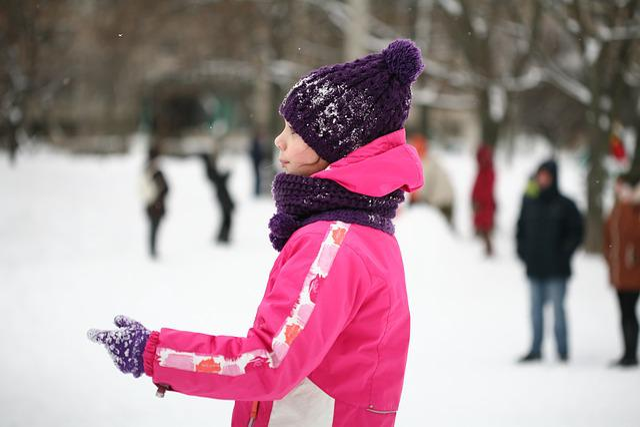 Street, Kids, Games, Snow, Gorka, Sled, Kid, Childhood