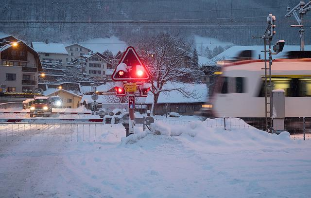 Train, Sbb, Snow, Glarus, S Bahn, Winter