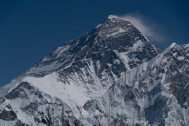 Nepal, Everest, Clouds, Himalaya, Rock, Snow